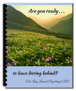 are you ready to leave dieting behind