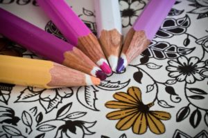 coloring can be meditation