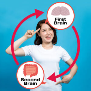 """eft tapping targets the body which is important as a great deal of information travels from the body to the brain.  The GI tract is often described as the """"second brain"""""""