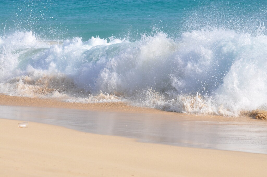 imagining the warm sand and the sound of the waves can evoke the same relaxation in the body as being there in person